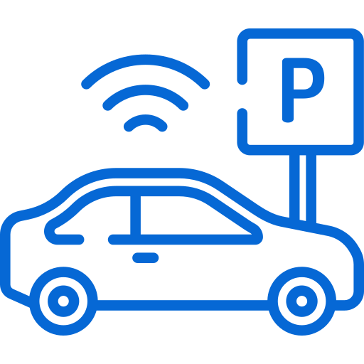 Automatic parking system icon
