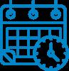 dates of inspections - calendar